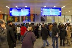 Aéroport d'Istanbul Atatürk Images libres de droits
