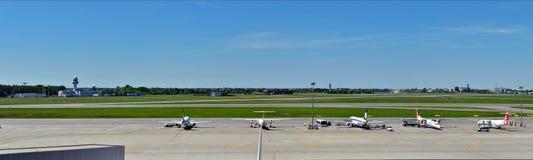 Aéroport d'Okecie en éditorial de Varsovie Image stock