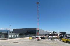 Aéroport d'Orio al Serio Photos stock