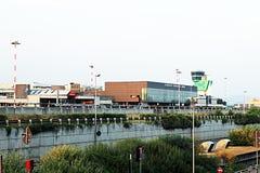 Aéroport d'Orio al Serio Photographie stock libre de droits