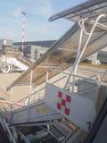Aéroport d'Orio al Serio en Milan Linate Images stock