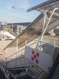 Aéroport d'Orio al Serio en Milan Linate Image libre de droits