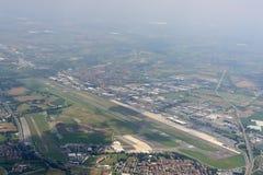 Aéroport d'Orio d'en haut, l'Italie Photographie stock libre de droits