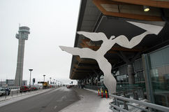 Aéroport d'Oslo, Gardermoen Photo stock