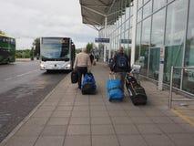 Aéroport dans Bristol Images stock