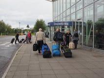 Aéroport dans Bristol Photographie stock libre de droits
