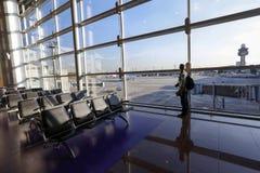 Aéroport dans Cumbica Photographie stock