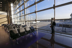 Aéroport dans Cumbica Image stock
