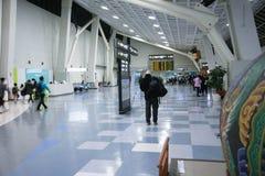 Aéroport, dans Gimpo, la Corée du Sud Photo stock