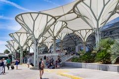 Aéroport dans la fente, Crotia Images stock