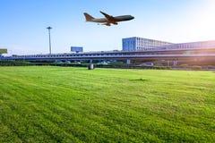 Aéroport dans la porcelaine de Pékin Image stock