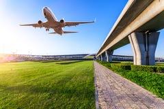 Aéroport dans la porcelaine de Pékin Images stock