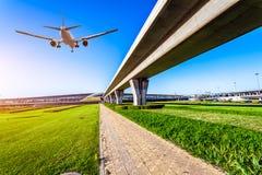 Aéroport dans la porcelaine de Pékin Photo libre de droits