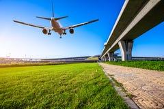 Aéroport dans la porcelaine de Pékin Photos libres de droits