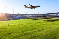 Aéroport dans la porcelaine de Pékin Photographie stock