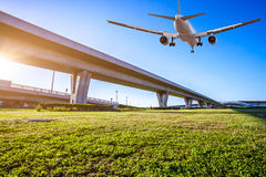 Aéroport dans la porcelaine de Pékin Image libre de droits