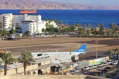 Aéroport dans la station de vacances populaire - Eilat, Israël Photo libre de droits