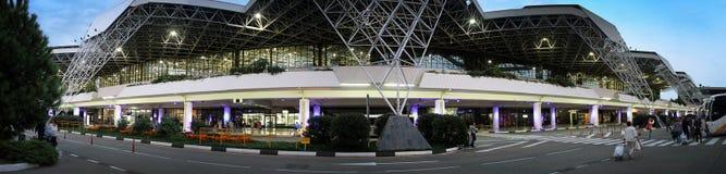 Aéroport dans la ville de Sotchi Images stock