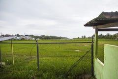 Aéroport dans le del Toro, Panama de Bocas Photographie stock libre de droits