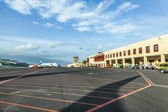 Aéroport dans le palma de La Images libres de droits