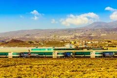 Aéroport dans les îles Canaries de Ténérife Image stock