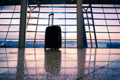 Aéroport dans Pékin Photos libres de droits