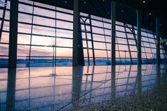Aéroport dans Pékin Photographie stock libre de droits
