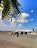 Aéroport dans Punta Cana de la République Dominicaine  Photographie stock libre de droits