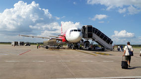 Aéroport dans Siem Reap Cambodge Image stock