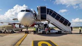 Aéroport dans Siem Reap Cambodge Image libre de droits