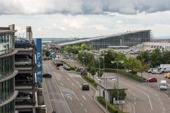 Aéroport de approche de Stuttgart Photos libres de droits