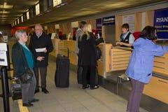 Aéroport de Baden, Allemagne Photos stock