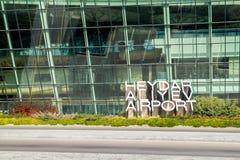 Aéroport de Bakou Image stock