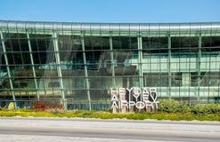 Aéroport de Bakou Images libres de droits