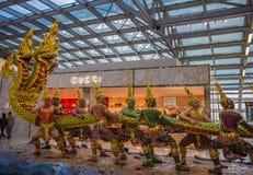Aéroport de Bangkok Photographie stock