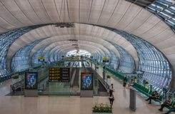 Aéroport de Bangkok Photo stock