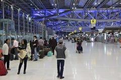 Aéroport de Bangkok Suvarnabhumi Photographie stock