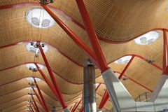 Aéroport de Barajas Photographie stock
