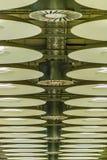 Aéroport de Barajas de détail de plafond, Madrid, Espagne Photos stock