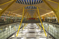 Aéroport de Barajas, Madrid Images stock
