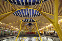 Aéroport de Barajas, Madrid Image stock