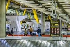 Aéroport de Barajas, Madrid, Espagne Photographie stock