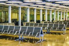 Aéroport de Barajas, Madrid, Espagne Image libre de droits
