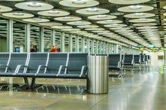 Aéroport de Barajas, Madrid, Espagne Photo libre de droits