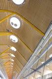 Aéroport de Barajas - Madrid, Espagne Photographie stock libre de droits
