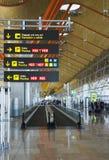 Aéroport de Barajas - Madrid, Espagne Images stock