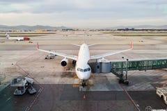 Aéroport de Barcelone Photographie stock libre de droits