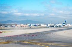 Aéroport de Barcelone Image stock