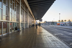 Aéroport de Barcelone Photographie stock