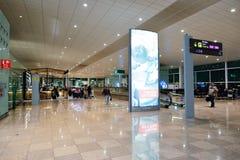 Aéroport de Barcelone Images stock